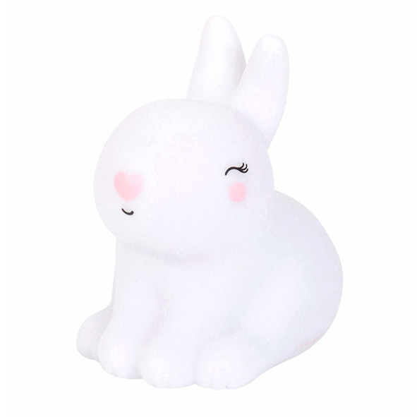 Mini veilleuse LED - Lapin Blanc A Little Lovely Company