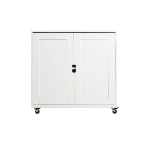 Commode 2 portes S Mix & Match - Blanc Blanc Bopita