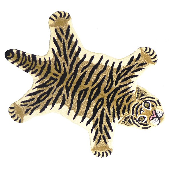 Tapis Tigre Drowsy - L - 150 x 90 cm Multicolore Doing Goods