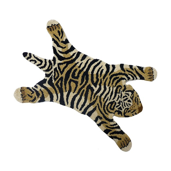 Tapis Tigre Flying - S - 100 x 60 cm Multicolore Doing Goods