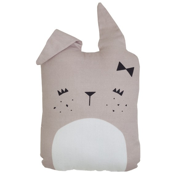 Coussin Lapin Beige Fabelab