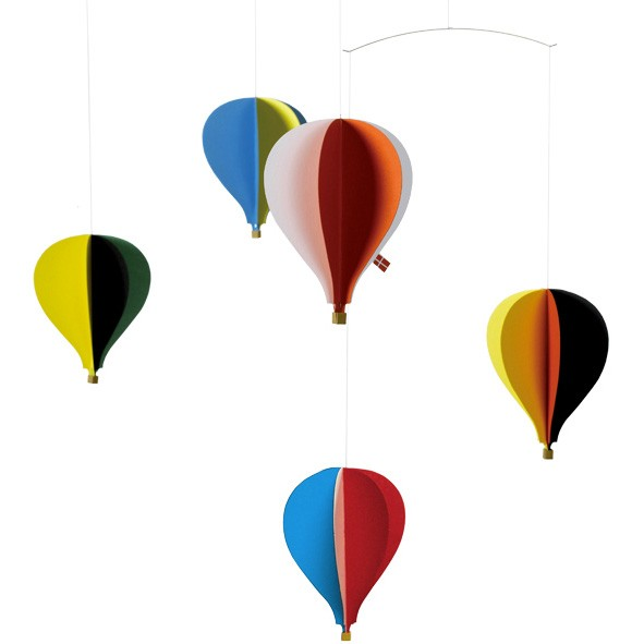 Mobile Montgolfières Multicolore Flensted