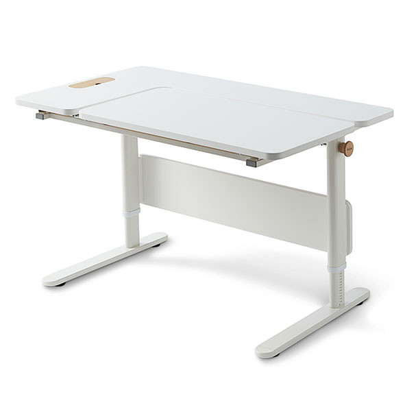 Bureau MOBY - Côté Droit Inclinable Blanc Flexa