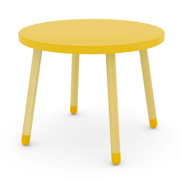 Petite table PLAY - Jaune Jaune Flexa