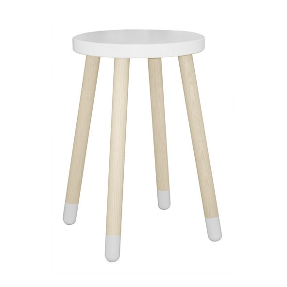 Table d'appoint PLAY - Blanc Blanc Flexa