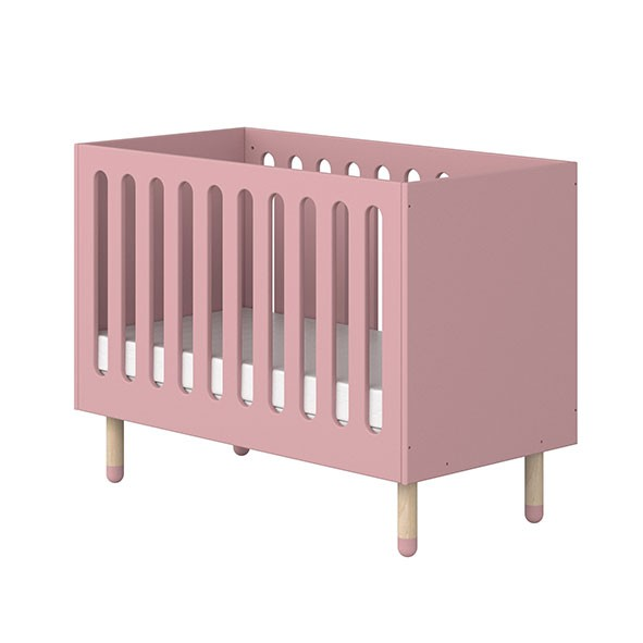 Lit bébé PLAY - Rose Rose Flexa