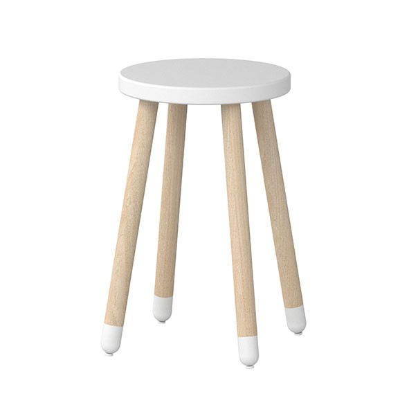 Tabouret / Table d'appoint PLAY - Blanc Blanc Flexa
