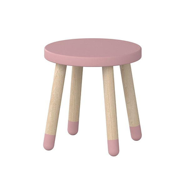 Petit tabouret PLAY - Rose Rose Flexa