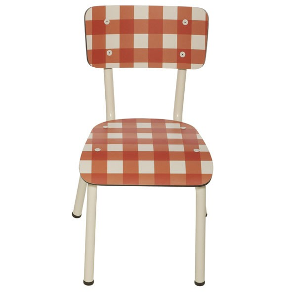 Chaise Little Susie Collection Rouge Les Gambettes