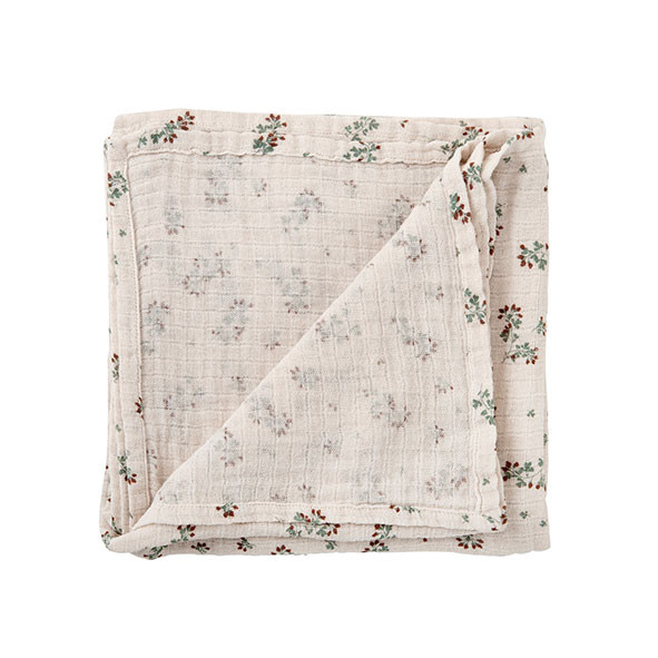 Couverture en gaze de coton - Clover Beige Garbo and Friends