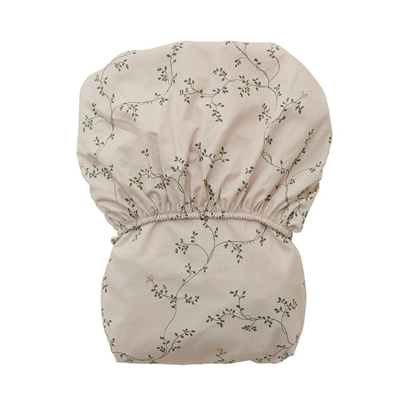 Drap housse 90 x 200 - Botany Gris Garbo and Friends