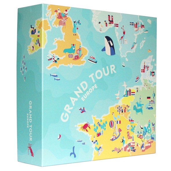 Grand Tour Europe Multicolore Helvetiq