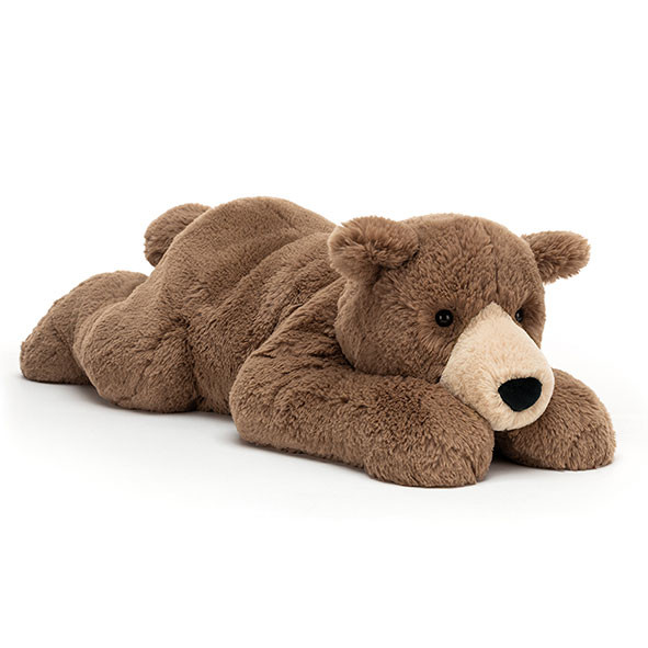 Peluche Ours Woody (65 cm) Marron / Taupe Jellycat