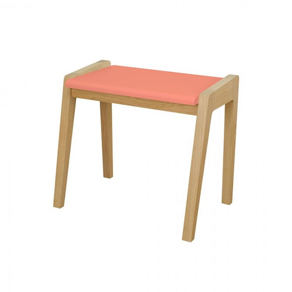 Tabouret My Great Pupitre - Rose Rose Jungle by Jungle