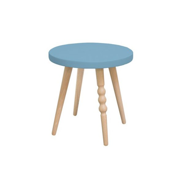 Tabouret 30 cm My Lovely Ballerine - Hêtre / Bleu Bleu Jungle by Jungle