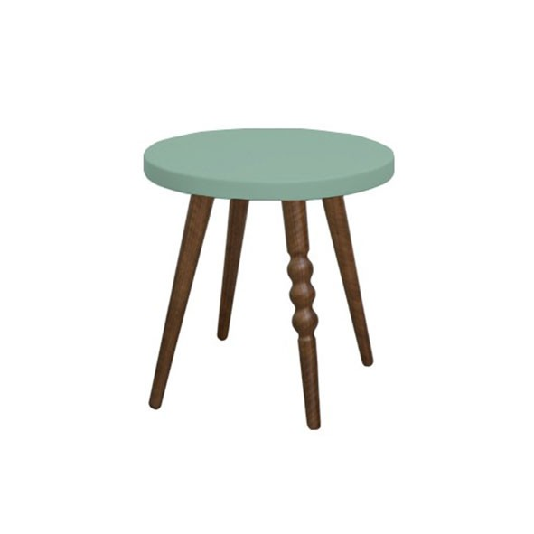 Tabouret 30 cm My Lovely Ballerine - Noyer / Vert Céladon  Vert Jungle by Jungle