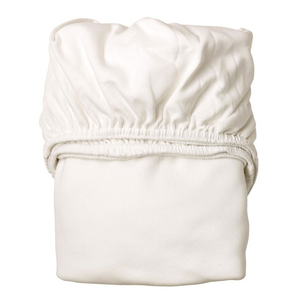 Set de 2 draps housse junior - Blanc Blanc Leander