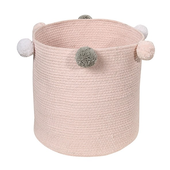 Panier Bubbly 30 x 30 cm - Rose Rose Lorena Canals