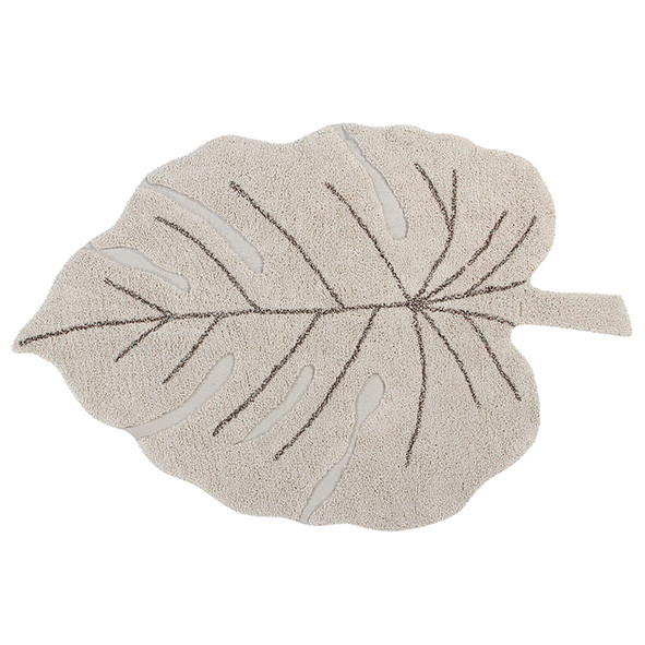Tapis Monstera 120 x 180 cm - Naturel Beige Lorena Canals