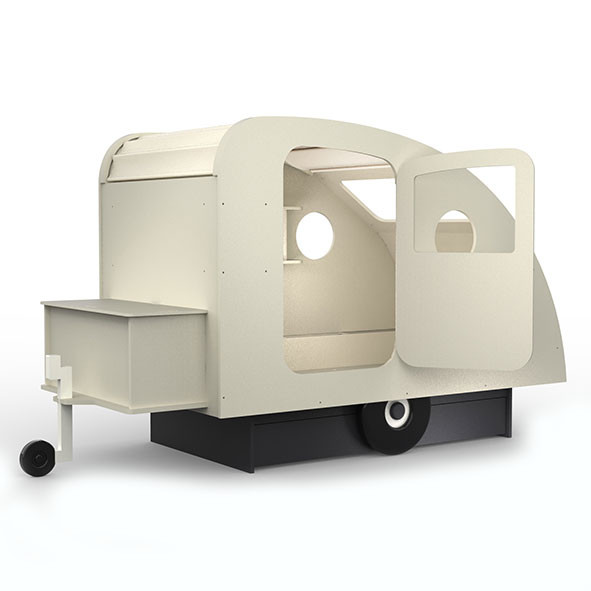Lit caravane Multicolore Mathy by Bols