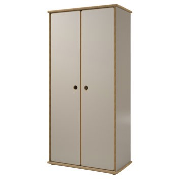 Armoire 2 portes David Marron / Taupe Mathy by Bols