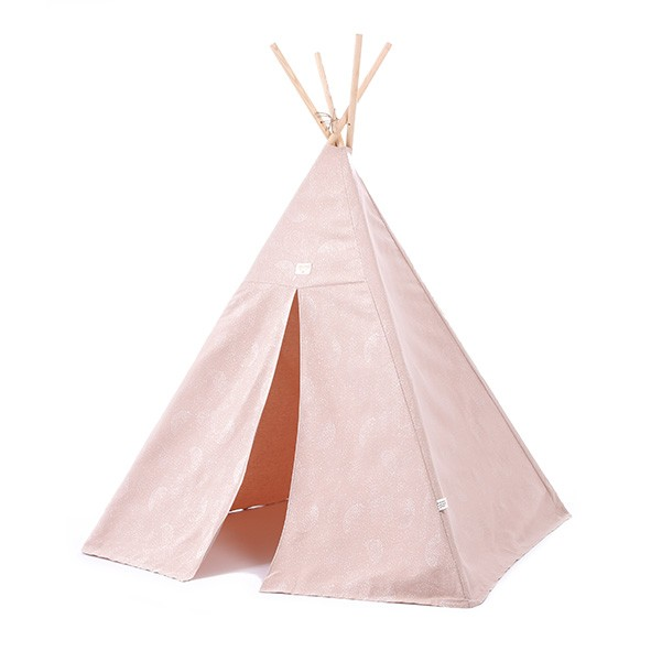Tipi Phoenix Bubble - Elements - Rose pâle / Blanc Rose Nobodinoz
