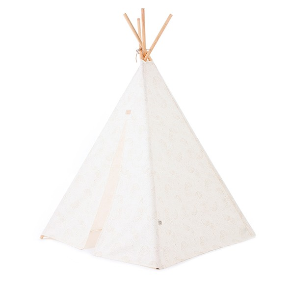 Tipi Phoenix Bubble - Elements - Blanc / Or Blanc Nobodinoz