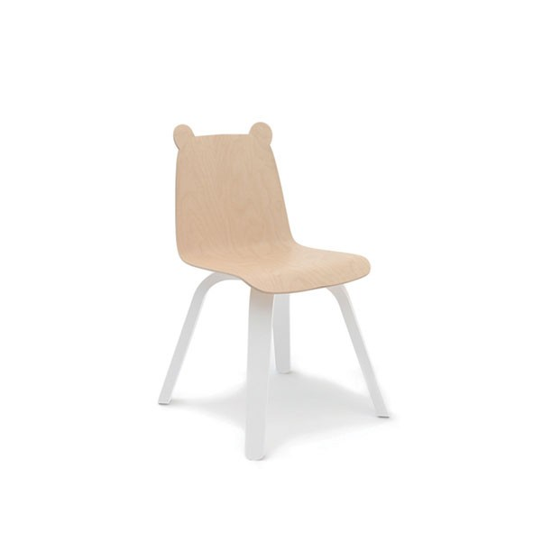 Chaises Play Ourson - Bouleau - Lot de 2 Blanc Oeuf NYC