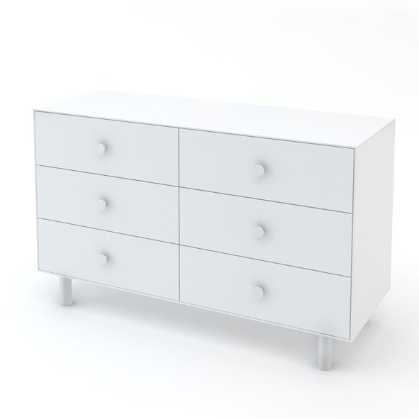 Commode Merlin 6 tiroirs - Classic - Blanc Blanc Oeuf NYC