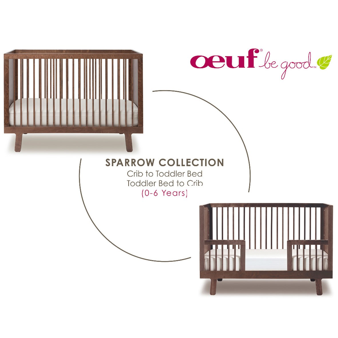 Kit de Conversion Sparrow - Noyer Marron / Taupe Oeuf NYC