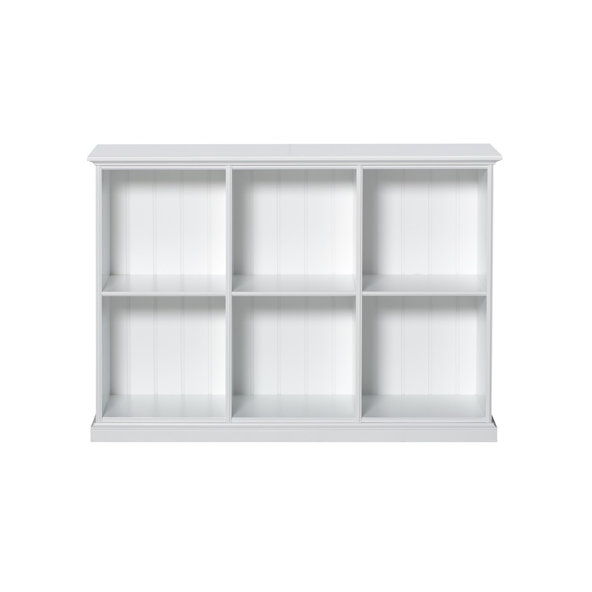 Etagère Seaside 6 compartiments Blanc Oliver Furniture