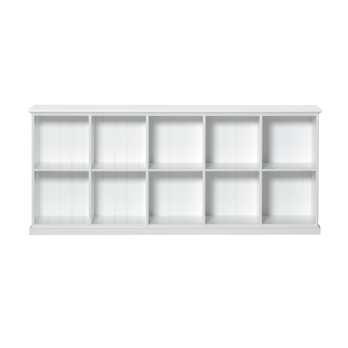 Etagère Seaside 10 compartiments Blanc Oliver Furniture