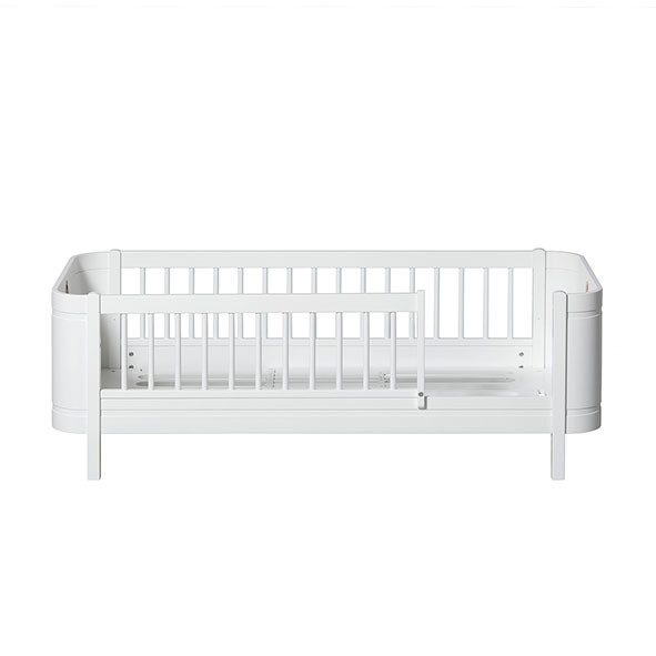 Lit Junior 68 x 162 cm Wood Mini+ - Blanc Blanc Oliver Furniture