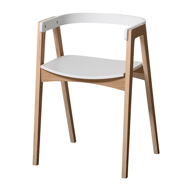 Fauteuil Ajustable Wood Blanc Oliver Furniture