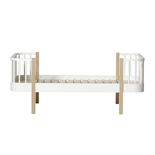 Lit junior évolutif Wood - Chêne Blanc Oliver Furniture