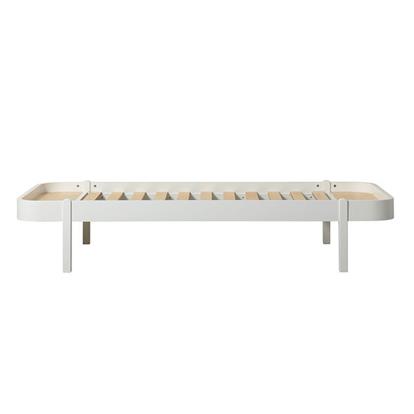 Lit Wood Lounger 90 x 200 - Blanc Blanc Oliver Furniture