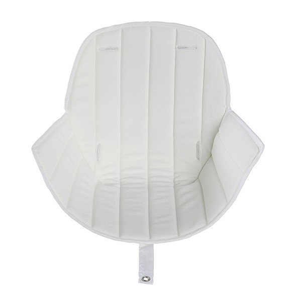 Assise - Chaise haute OVO - Blanc Blanc Micuna
