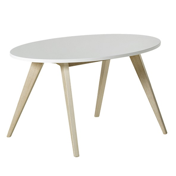 Table enfant Ping Pong Blanc Oliver Furniture