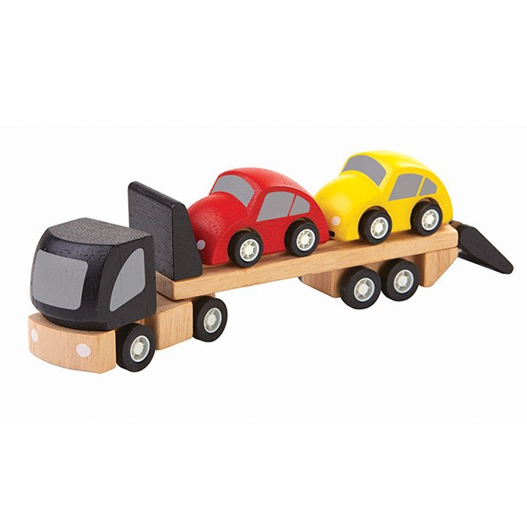 Camion de transport de voitures Multicolore Plantoys