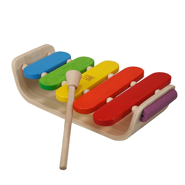 Xylophone ovale Multicolore Plantoys