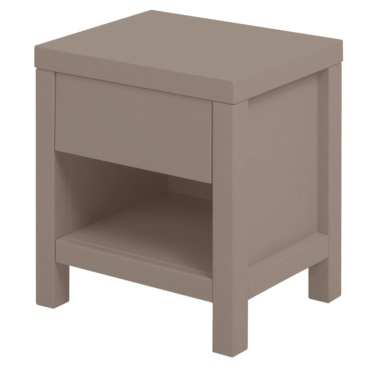 Table de nuit Joy - Provence Marron / Taupe Quax