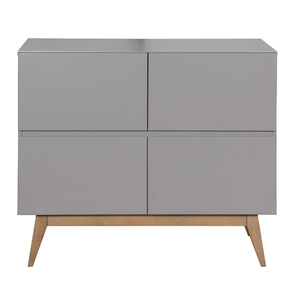 Commode 4 tiroirs Trendy - Griffin Grey Gris Quax