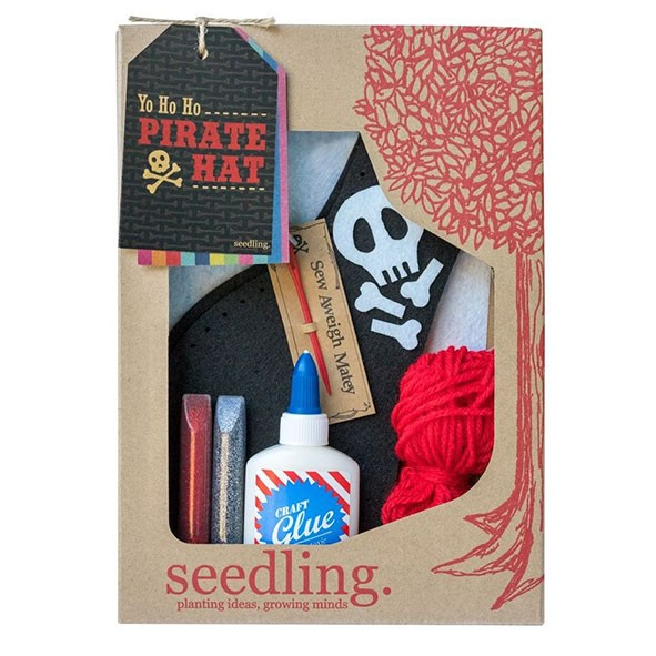 Kit crée ton chapeau de pirate  Multicolore Seedling