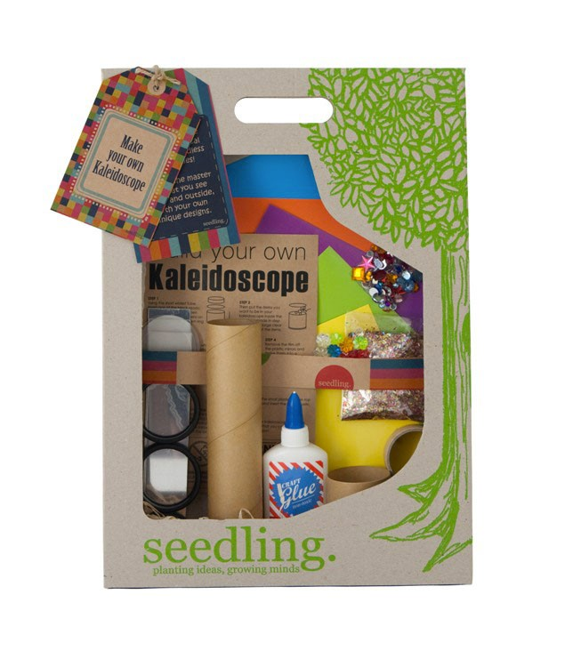Kit Crée ton kaleidoscope Multicolore Seedling