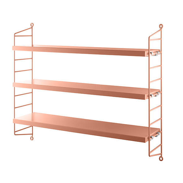 Etagère Pocket - Blush Rose String Furniture