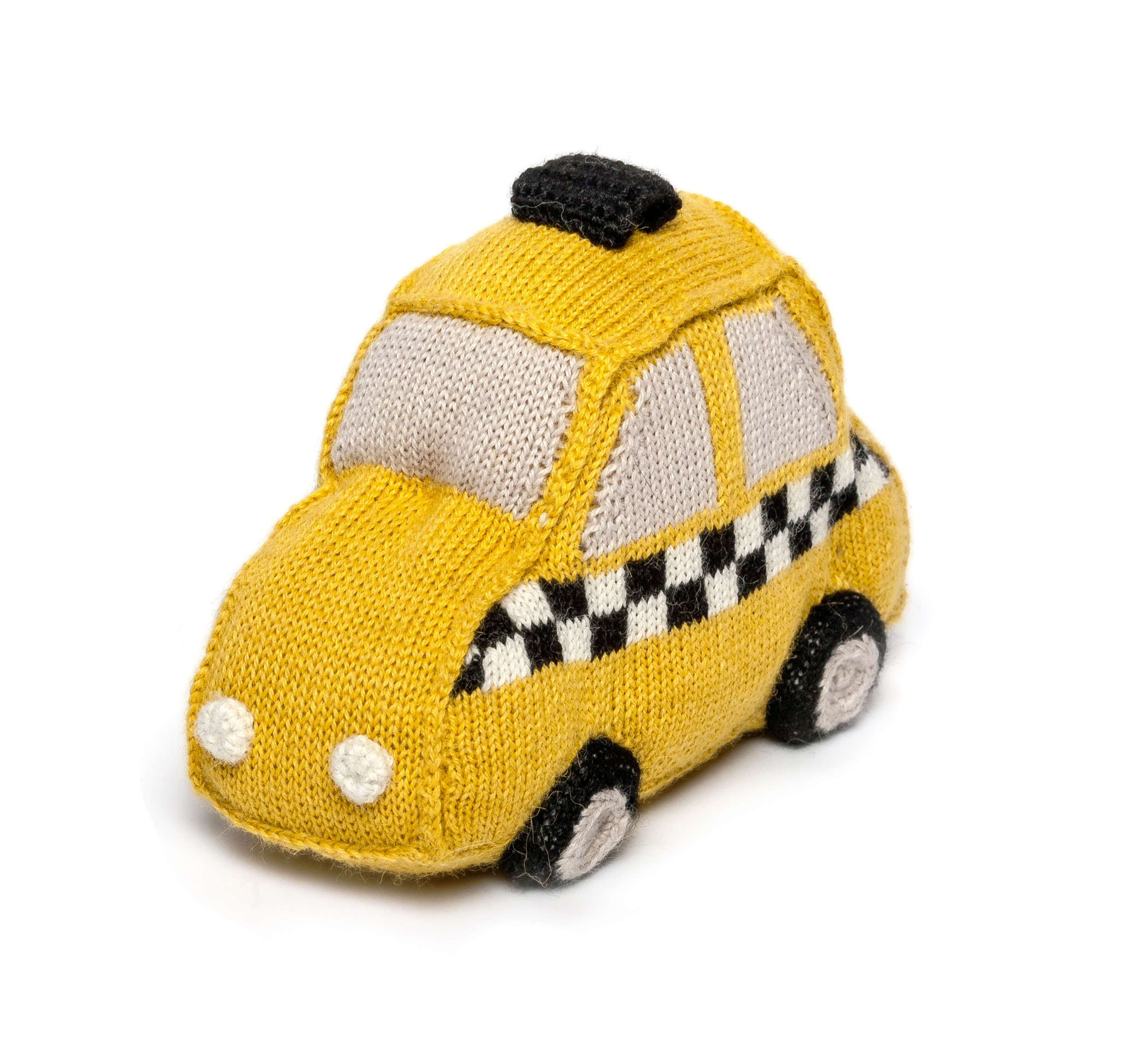 Coussin Taxi Jaune Oeuf NYC