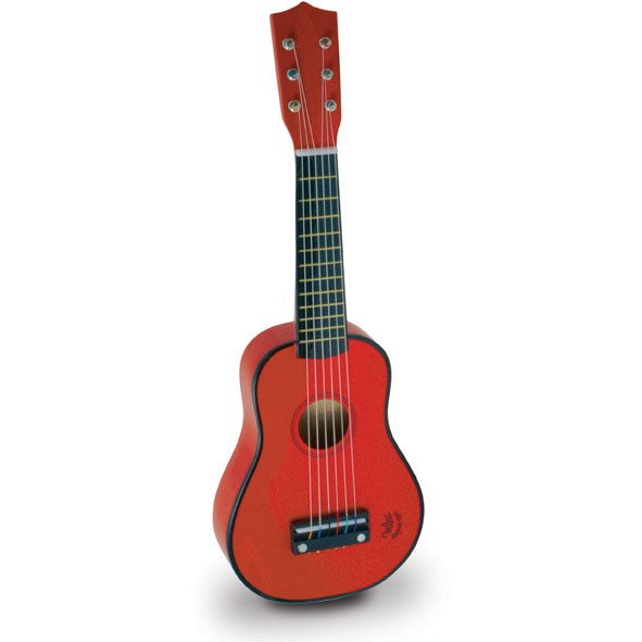Guitare enfant Rouge Vilac