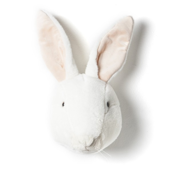 Trophée Lapin Blanc Alice Blanc Wild and Soft