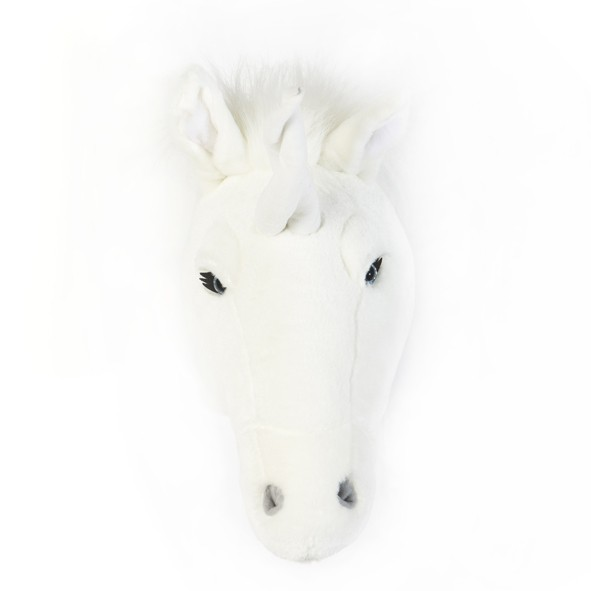 Trophée Licorne Claire Blanc Wild and Soft