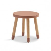 Petit tabouret PLAY - Cherry Rose Flexa